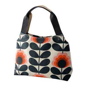 Orla Kiely (オーラカイリー) 17SESFS024 Sunset ショルダーバッグ SUMMER FROWER STEM Classic Zip Shoulder Bag
