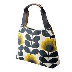 Orla Kiely (オーラカイリー) 17SESFS024 Sunshine ショルダーバッグ SUMMER FROWER STEM Classic Zip Shoulder Bag