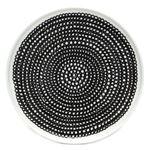 marimekko (マリメッコ) SIIRTOLAPUUTARHA PLATE 20cm 63303 199 white/black/black 手描き風デザイン プレート 丸皿の詳細ページへ