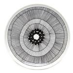 marimekko (マリメッコ) SIIRTOLAPUUTARHA PLATE 25cm 63304 191 white/black 手描き風デザイン プレート 丸皿の詳細ページへ