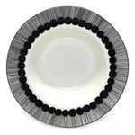 marimekko (マリメッコ) SIIRTOLAPUUTARHA DEEP PLATE 20cm 66683 190 white/black 手描き風ドットデザイン ディーププレート スープ皿の詳細ページへ