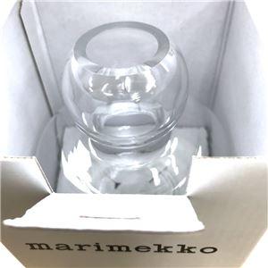 marimekko (マリメッコ) 67642 100 フラワーベース 花瓶 FLOWER GLASS VASE