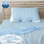 枕パッド 洗える 冷感 涼感 接触冷感 『クールリバース』 約40×50cm 吸水 速乾 リバーシブルの詳細ページへ