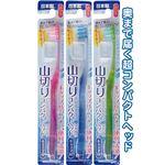 コンパクトヘッドキャップ付歯ブラシ山切ふつう日本製 【12個セット】 41-216の詳細ページへ