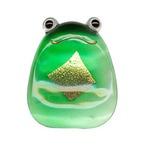 田中箸店 ガラス箸置(金箔入) 金かえる 054223の詳細ページへ