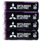 三菱 黒マンガン乾電池単3(4本入)R6PUE/4S 36-358 【10個セット】の詳細ページへ