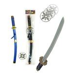 忍者刀(手裏剣付)2 色アソート【12個セット】 TO-088の詳細ページへ