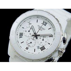 コグ COGU クロノグラフ メンズ 腕時計 CRM2-WWH