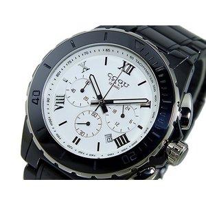 コグ COGU クロノグラフ メンズ 腕時計 CRM2-BWH