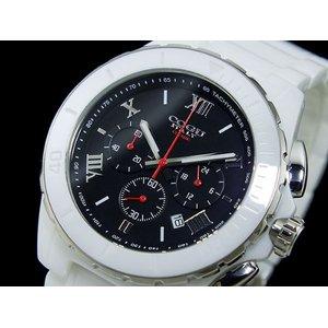 コグ COGU クロノグラフ メンズ 腕時計 CRM2-WBK