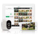 NETGEAR Inc. Arlo 100%ワイヤレス電池駆動ネットワークカメラ(増設用カメラ1台) 防犯対策 家族ペット見守り スマホで簡単設定 -繋いで、おとして、プッシュ- VMC3030-100JPSの詳細ページへ