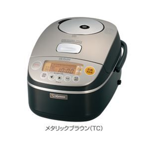 象印/ZOJIRUSHI 圧力IH炊飯ジャー 極め炊き (5.5合炊き) NP-BA10 メタリックブラウン