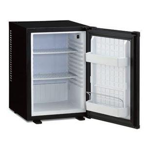 三ツ星貿易 1ドア冷蔵庫 40L ML-40B ブラック 寝室用