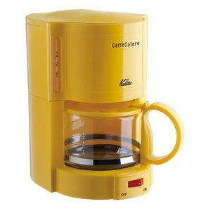 カリタ/Kalita コーヒーメーカー カフェコローレ V-102 イエロー