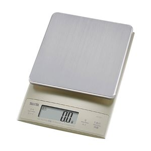 タニタ/TANITA デジタルクッキングスケール 3kg KD-321-SV