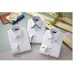 ドレスシャツ3枚組 50220(ホワイト系) Lサイズの詳細ページへ