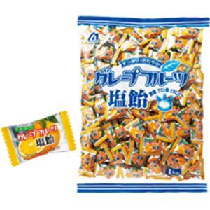 (まとめ)グレープフルーツ塩飴 1kg 3パック
