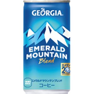 (まとめ)ジョージア エメラルドマウンテンブレンド 185g缶 30本入