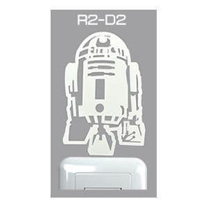 ウォールステッカー ペタモ蓄光 スター・ウォーズ(R2-D2)