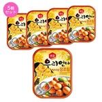 【韓国食品・おかず缶詰】センピョお母さんの味「うずらの味付けたまご」5個セットの詳細ページへ