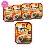 【韓国食品・おかず缶詰】センピョお母さんの味「エゴマの葉キムチ辛口」5個セットの詳細ページへ