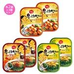 【韓国食品・おかず缶詰】センピョお母さんの味「人気のお試し 各2個×3種セット」の詳細ページへ