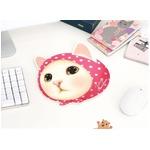 JETOY(ジェトイ) 顔型マウスパッド/ピンクずきんの詳細ページへ