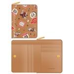 7321Design(7321デザイン) 可愛いギフトボックスに入った小銭入れ付ミニ財布/アリス/ラベル(ベージュ)の詳細ページへ