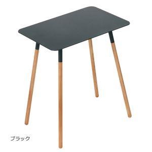 スタイリッシュサイドテーブル ブラック