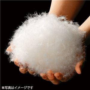 蓄熱生地を使った日本製羽毛布団 シングル(増量) ペイズリー・ブラウン