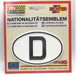 HR プラスチックデコエンブレム D(ドイツ) ホワイト L の詳細ページへ