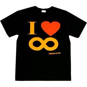 I Love ∞ Sサイズ ブラック