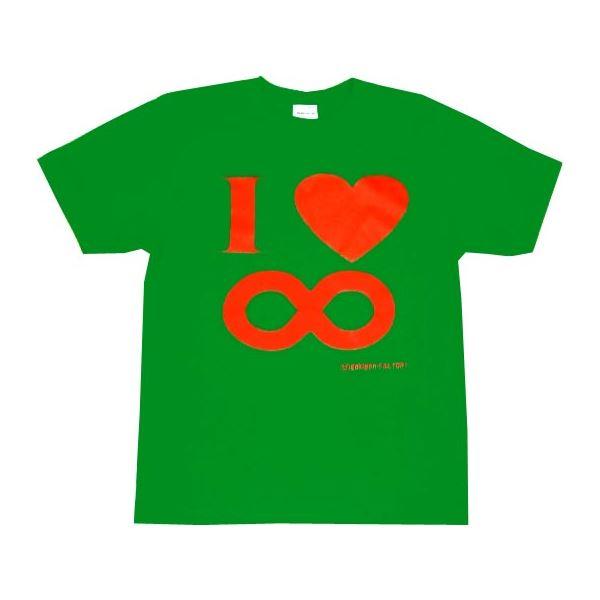 I Love ∞ Lサイズ グリーン