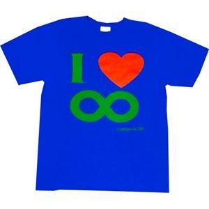 I Love ∞ Lサイズ ブルー
