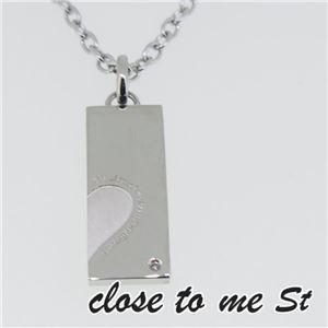 SN11-023 close to me St(クロス・トゥ・ミー) ステンレスネックレス メンズ