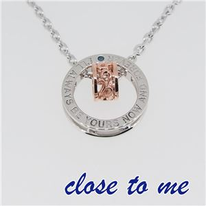 SN13-042 close to me(クロス・トゥ・ミー) リングネックレス レディース