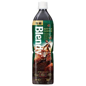 AGF ブレンディ ボトルコーヒー 無糖 1箱(900ml×12本)