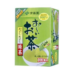 伊藤園 お~いお茶 さらさら緑茶スティック