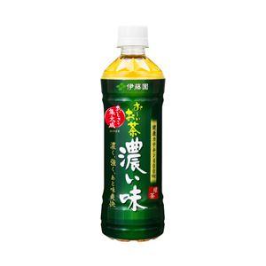 伊藤園 お~いお茶 濃い味 1箱(500ml×24本)