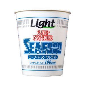 日清食品 カップヌードルライト シーフードヌードルライト 1箱(57g×12個)