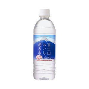 ポッカサッポロ 富士山のおいしい湧き水 1箱(530ml×24本)