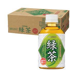 ポッカサッポロ 恵比寿茶房 緑茶 1箱(280ml×24本)