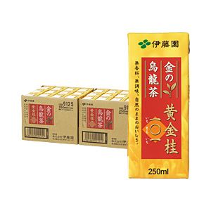 伊藤園 金の烏龍茶 黄金桂101 250ml紙パック 箱売