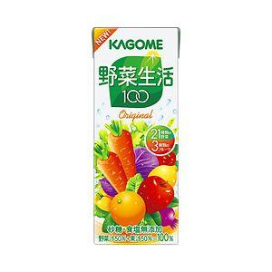 カゴメ 野菜生活 100 オリジナル 箱売 紙パック
