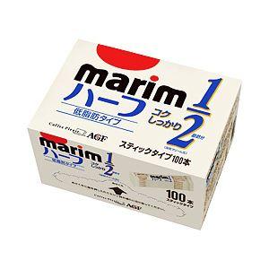 AGF マリーム ハーフ 低脂肪タイプ スティック 1箱(3g×100本)