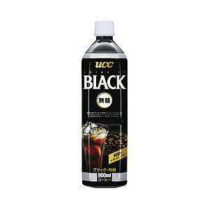 UCC ブラック無糖 1箱(900ml×12本)
