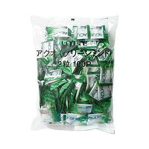 ロッテ ACUO グリーンミント 1袋(2粒×100パック)