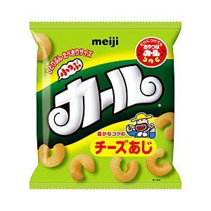 明治 小つぶカール チーズ味 1パック(14g×10袋)