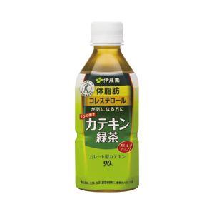 伊藤園 カテキン 箱売 緑茶 1箱(350ml×24本)