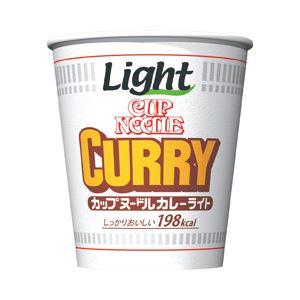 日清食品 カップヌードルライト カレーヌードルカレーライト 1箱(58g×12個)